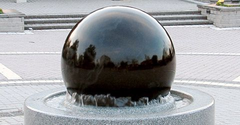 Ball water feature