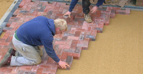 Block pavers in all colours