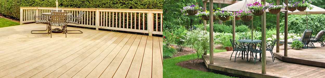 Transform your garden with decking
