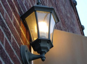 Outdoor lighting work