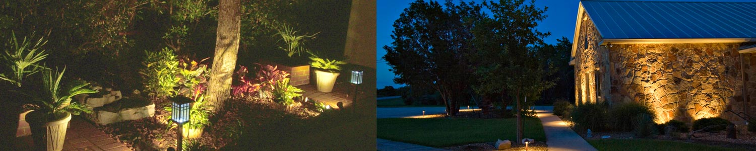 Transform you exterior space with outdoor lighting