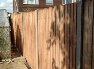 Fencing during installation